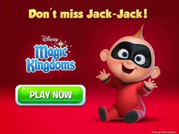 Magic Kingdoms feature Jack-Jack