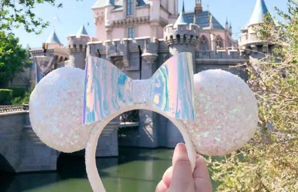 Iridescent Minnie Ears