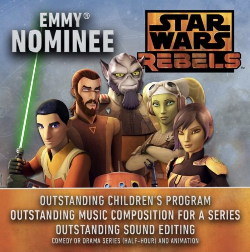 Star Wars Rebels Has Been Nominated for an Emmy 1