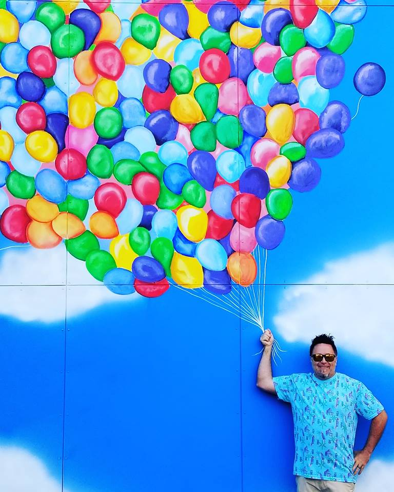 The New 'Up' Wall is Ready for Your Best Pose!