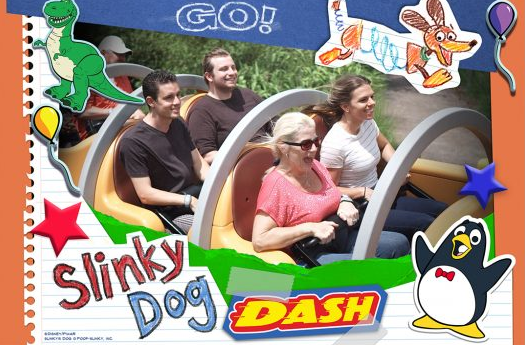Slinky Dog Attraction Photo