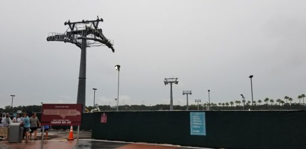 Hollywood Studios Disney Skyliner Construction