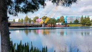 PHOTOS: Update on the Generation Gap Bridge Disney Skyliner Construction 5