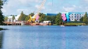 PHOTOS: Update on the Generation Gap Bridge Disney Skyliner Construction 8