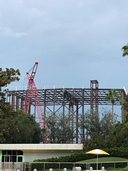 Guardians of the Galaxy Coaster Construction