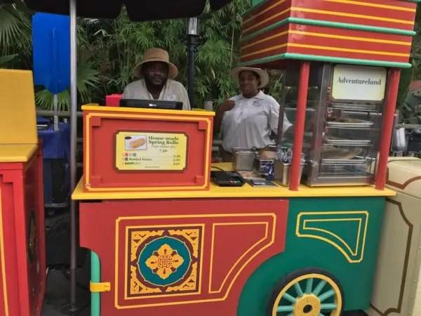 Grab a Cheeseburger Spring Roll in Adventureland at Magic Kingdom Park 1