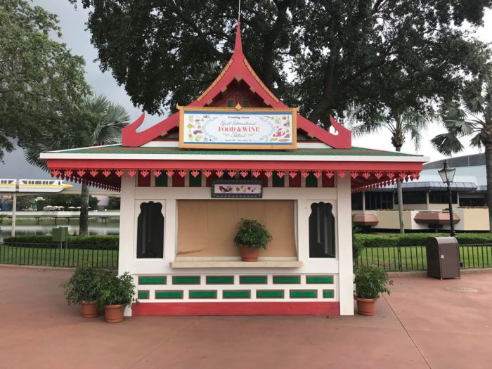 EpcotInternational Food & Wine Festival Booths