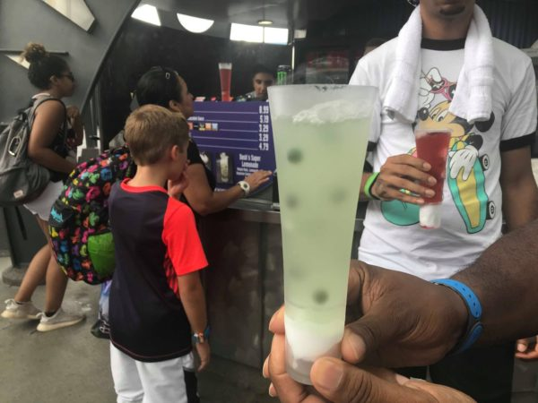 Tomorrowland Special Effects Drinks
