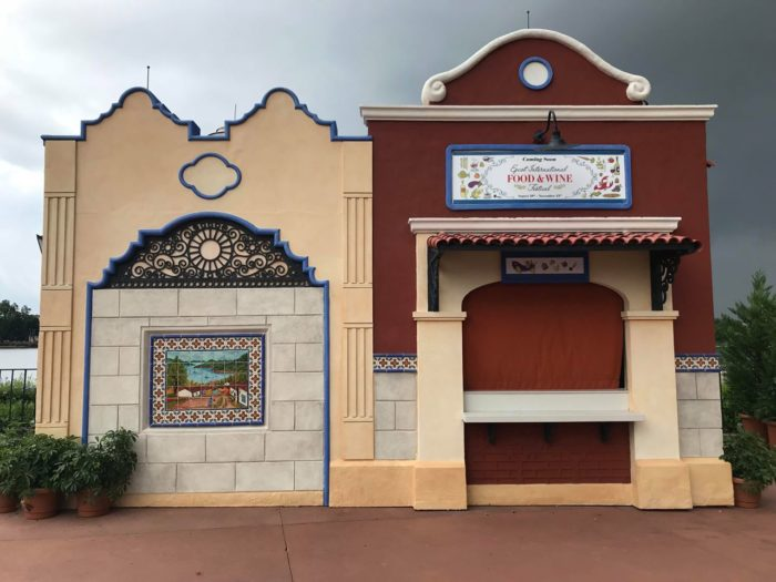 EpcotInternational Food & Wine Festival Booths Now Appearing 6