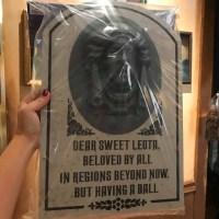 Ghoulishly Grand Haunted Mansion Merch At Memento Mori 7