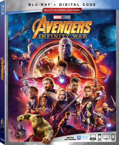 Avengers: Infinity War coming to Blu-Ray on August 14th