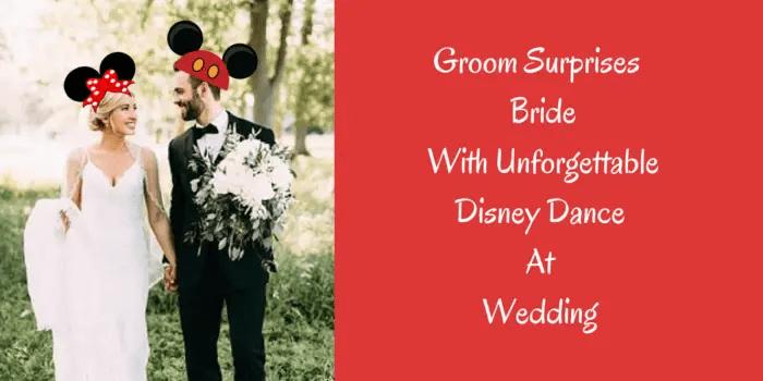disney dance groom
