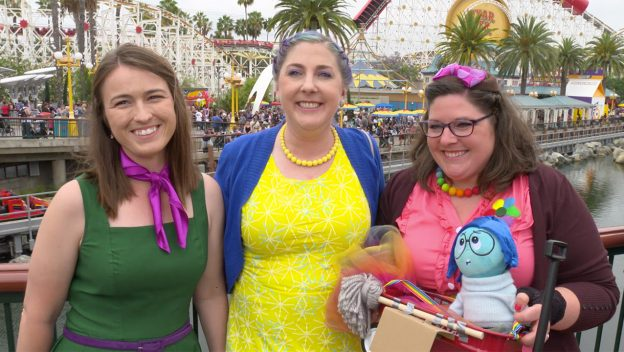 Best-Dressed Guests at Pixar Pier