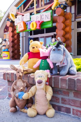 Celebrate Disney's Christopher Robin With Classic Hundred Acre Wood Plush Pals 1
