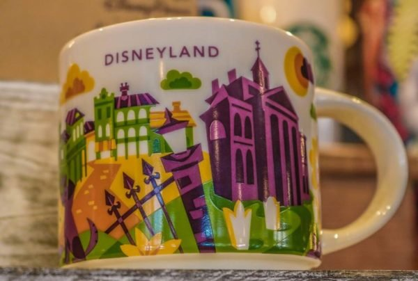 New Disneyland Starbucks Mug