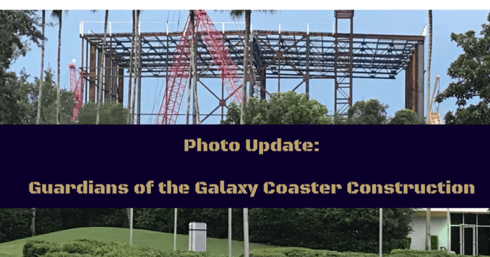 Guardians of the Galaxy coaster
