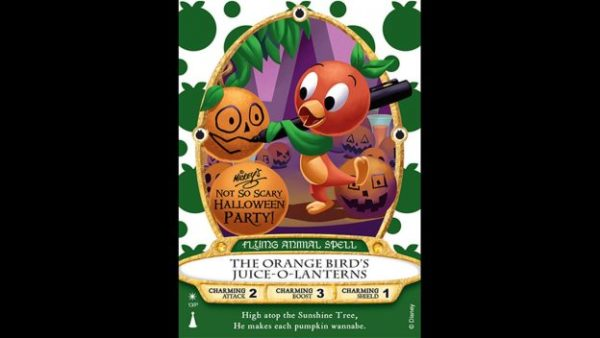 Mickey's Not So Scary Halloween Party Will Feature Orange Bird Sorcerers Of The Magic Kingdom Cards 1