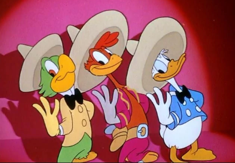 The Three Caballeros will join DuckTales