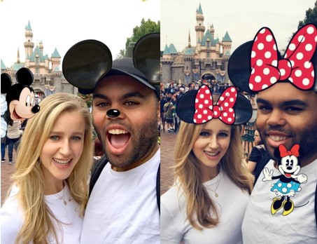 Snapchat Brings Augmented Reality To Disney, Universal and