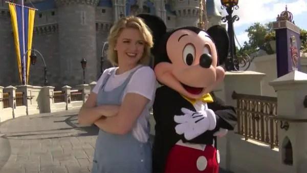 Maddie Poppe visited Disney World