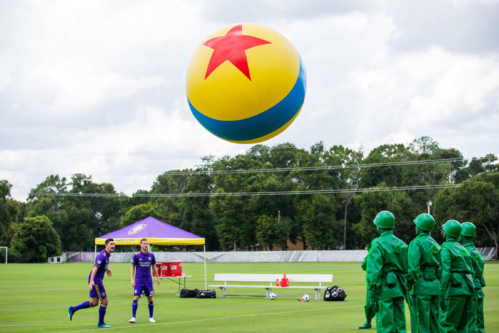 Orlando City Soccer Club Gets In On the Toy Story Land Fun 2