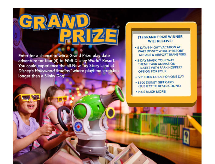 Win A Toy Story Land Vacation With shopDisney Play Big