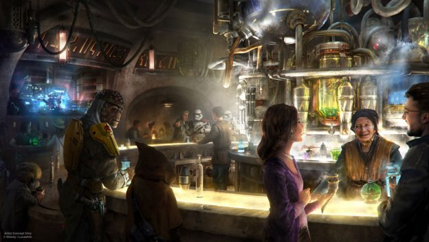 Details on Oga's Cantina in Star Wars: Galaxy's Edge Released