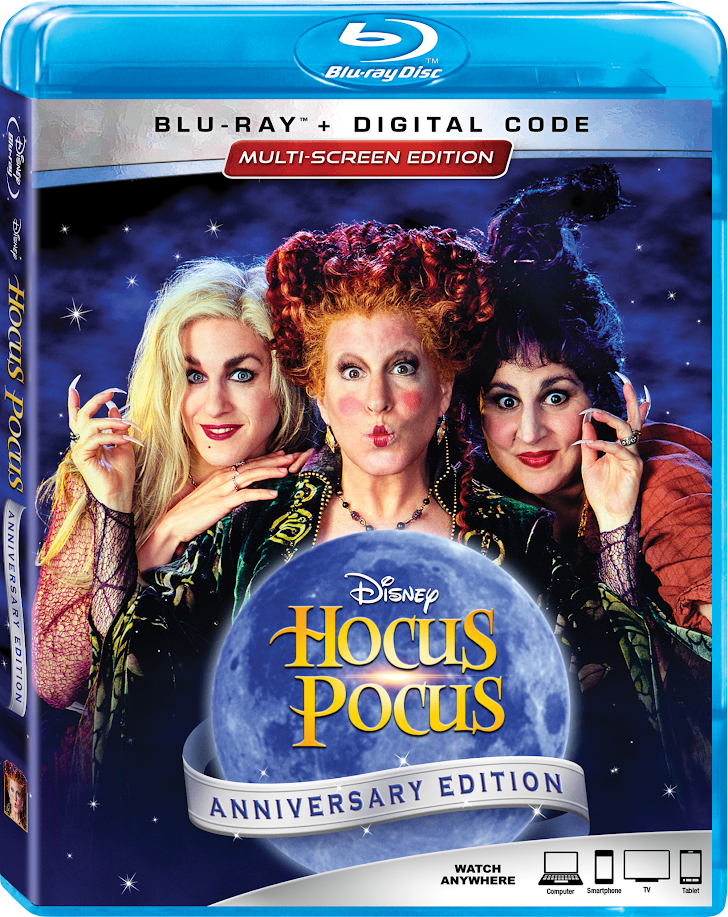 'Hocus Pocus' 25th Anniversary Edition Arrives on Blu-Ray in September!