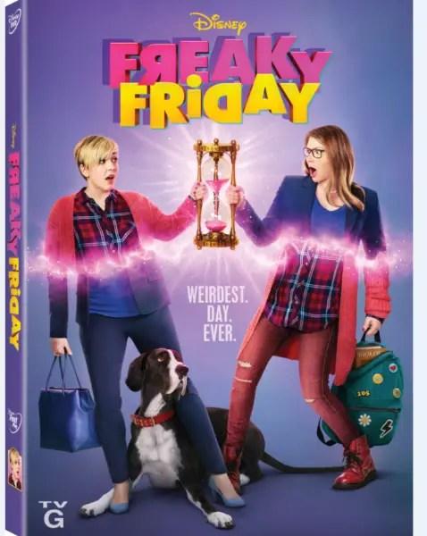 Freaky Friday: A New Musical on Disney DVD September 25th 1