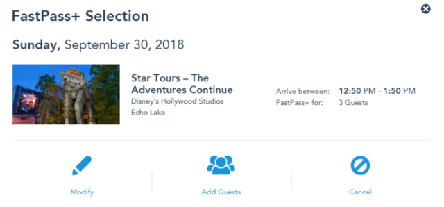 No More FastPass+ Transfers On MDE Website 1
