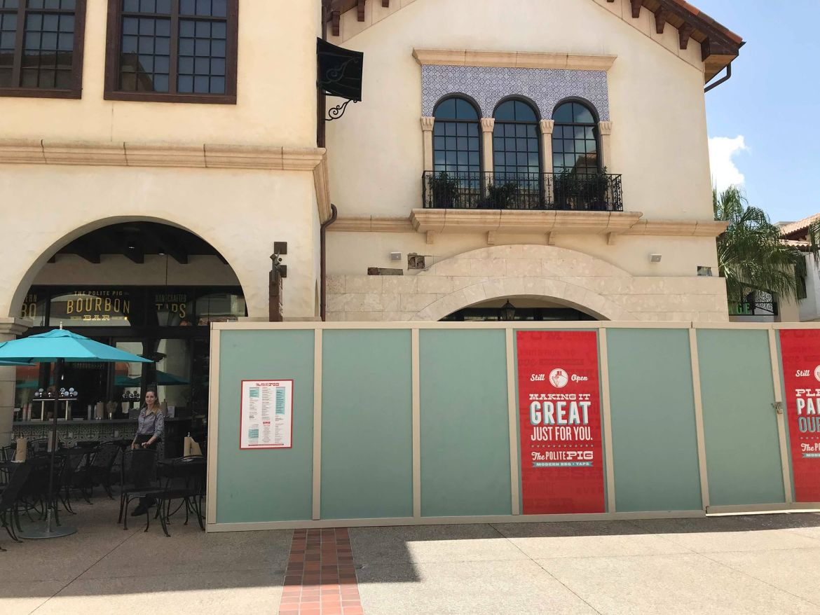 Additional Covered Outdoor Seating Coming to The Polite Pig