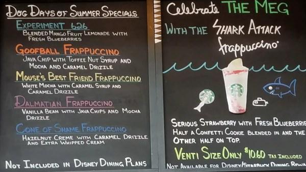 Starbucks Dog Days of Summer