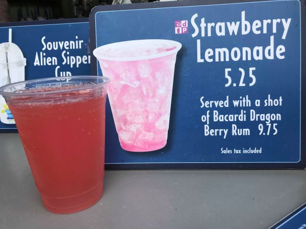 new Strawberry Lemonade at Hollywood Studios