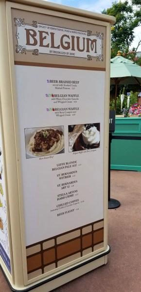 Belgium Food Booth