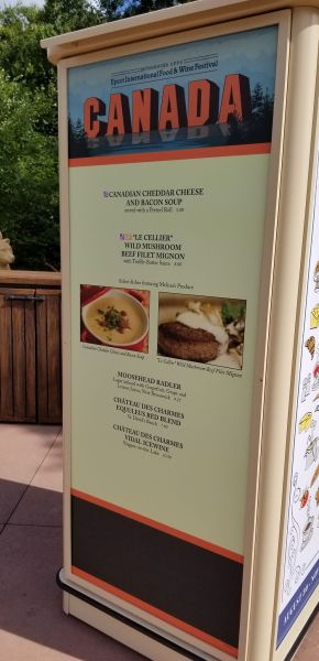 Canada Food Booth