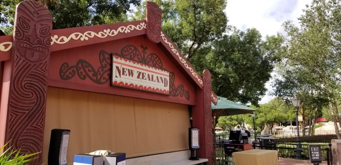 New Zealand Food Booth