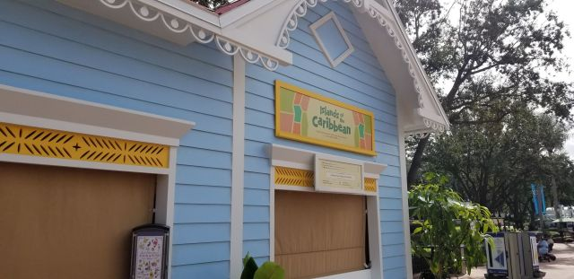 Islands of the Caribbean Food Booth
