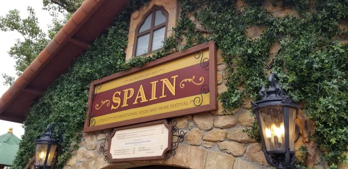 Spain Food Booth