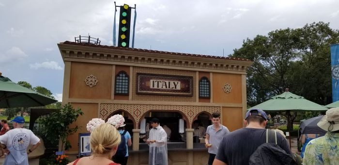 Italy Food Booth