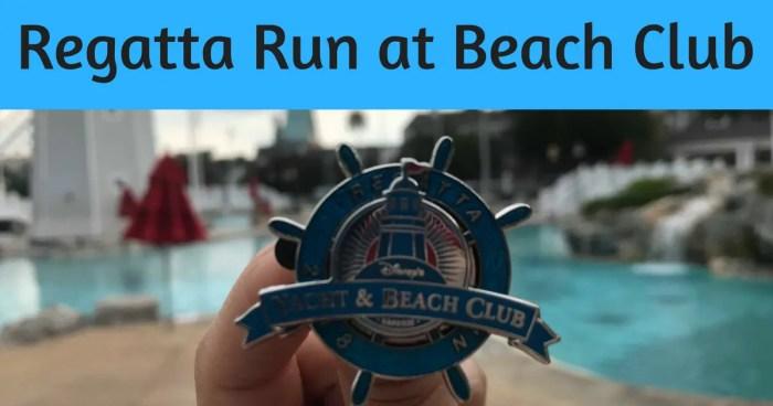 Regatta Run 3k at DIsney's Beach Club Resort