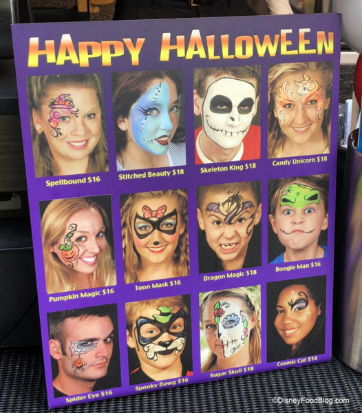 Face Painting Stations