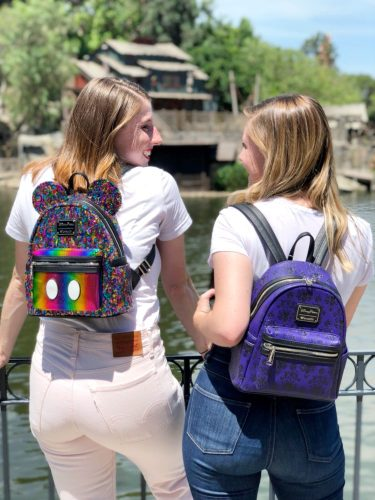 bbe768b26114 The Haunted Mansion backpack is already available at Walt Disney World