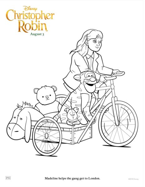 Disney S Christopher Robin Coloring Pages