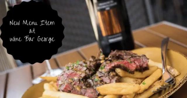 Wine Bar George Adds Steak Frites To the Menu 1
