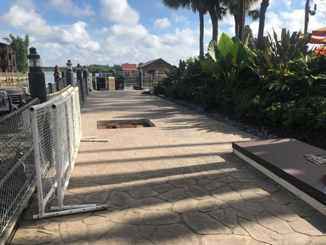 Construction Underway on the Grounds at Disney's Polynesian Village Resort 4