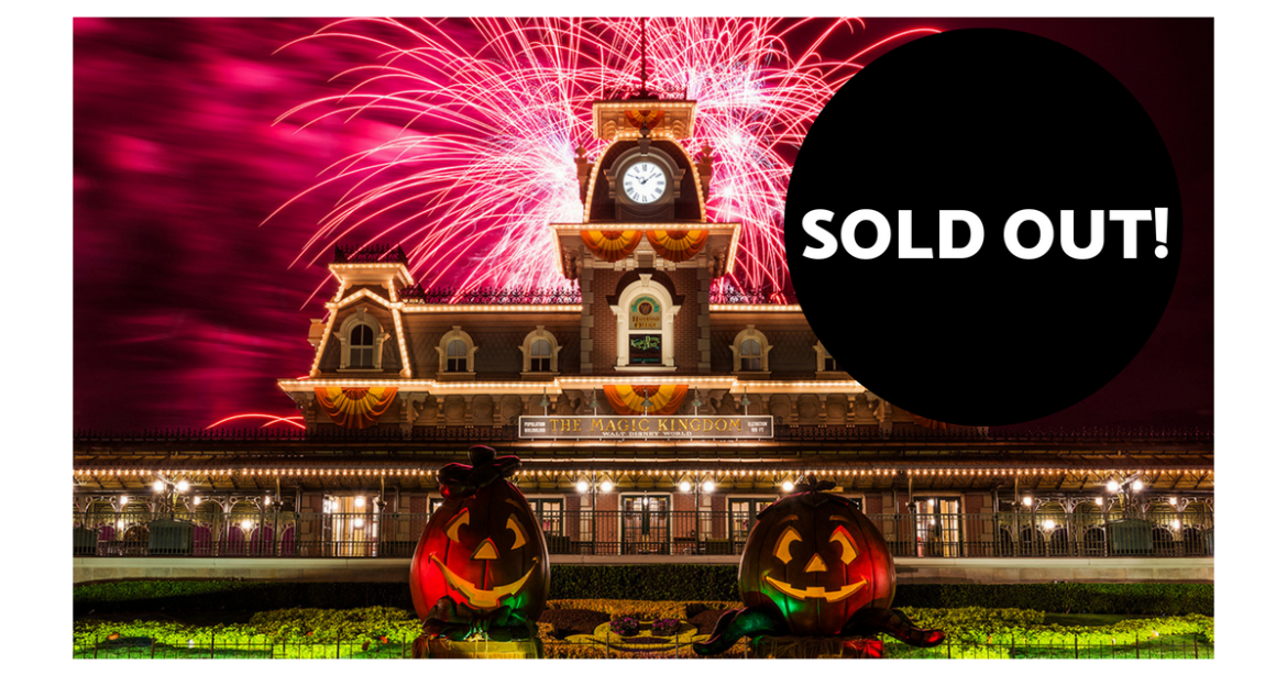 The First Mickey's Not-So-Scary Halloween Party is Officially Sold Out!