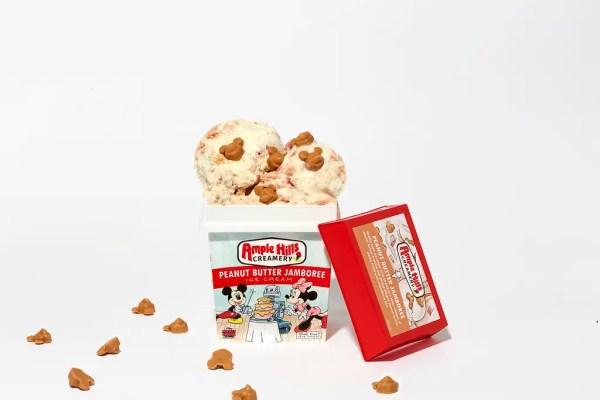 Mickey Ice Cream Flavors