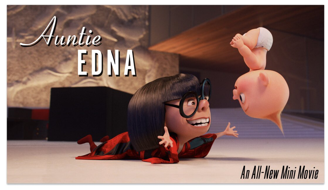 All-New Edna Mode Short Coming to Incredibles 2 In-Home Releases