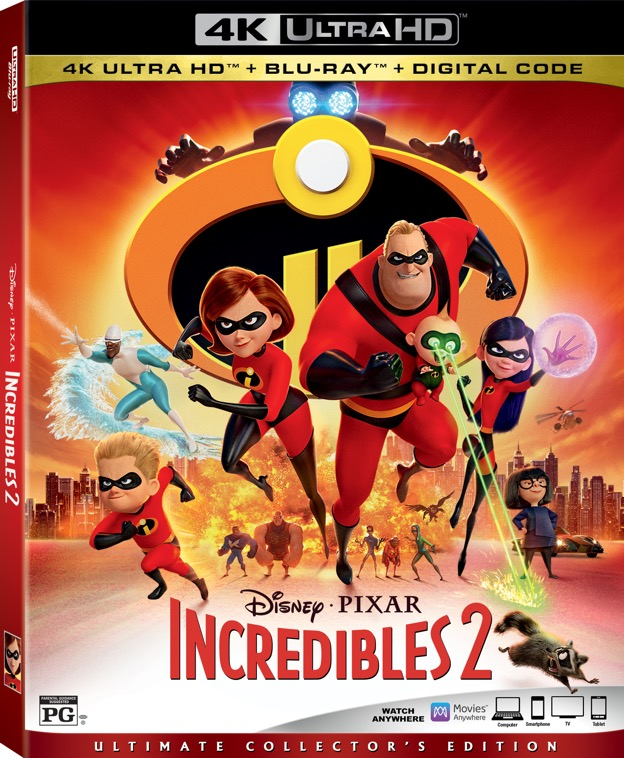 """""""Incredibles 2"""" Arrives on Digital Release, Blu-ray, and DVD This Fall!"""