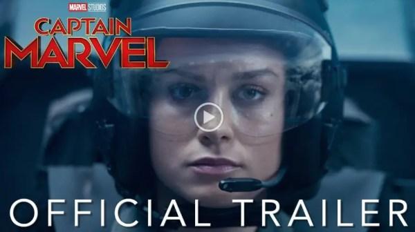"""first trailer for """"Captain Marvel"""""""
